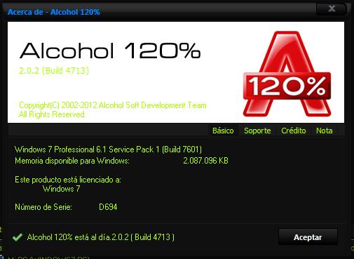 Alcohol 120% — это простая и функциональная программа для Windows 7, которая очень пригодится большинству пользователей.Если вы хотите скачать алкоголь 120, можете сделать это прямо сейчас на официальном сайте разработчика!