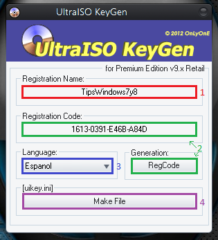 ultraiso  for windows 7 32 bit with crack